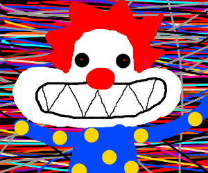 Clowns are REALLY scary after LSD
