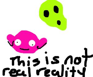 Kirby in an alternative reality