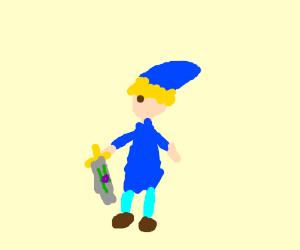 blue zelda