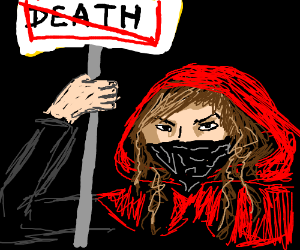 red riding hood forbids Death