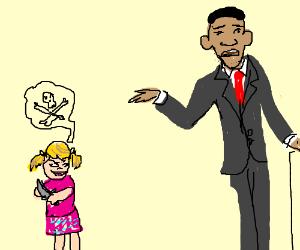 Girl plots stabbing of Obama