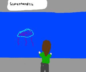 The Superman franchise extends to aquariums