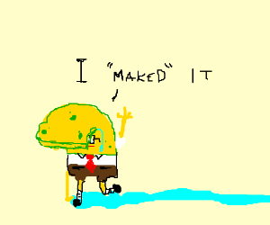 Sponge Bob maked trail of tears