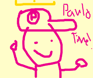 Paolo, the pink Mario Bros.