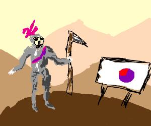Grim Reaper the Conquistador in Pie Dimension