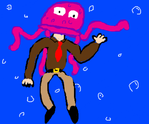 Jellyfishman says hey there