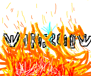 mirrored words in FLAMES