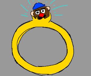 mr-potato in a ring