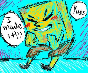 Spongebob made it