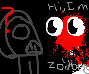 Vader finds Zoidberg in dark, gets confused