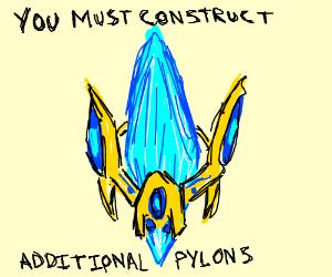 Magical blue pylon for 5/25 VS