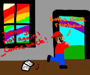 rainbow-chaser in school