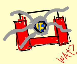Inception box is an actual superhero