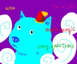 Dogenie wow! 3 wish! What wish?