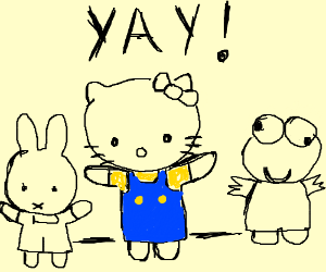 Hello Kitty, and friends!