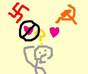 An idiot hates nazis and loves commies.