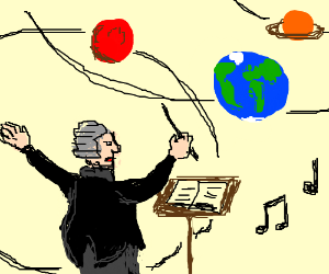 orchestrating the planets