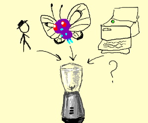 xkcd, Buterfree and a printer. Will it blend?