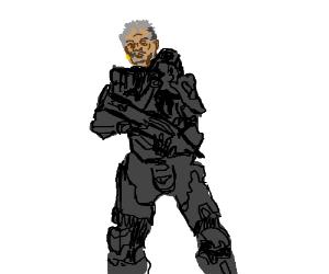 Wait.....Master Chief is Morgan Freeman?