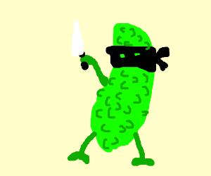 Masked pickle strikes again!