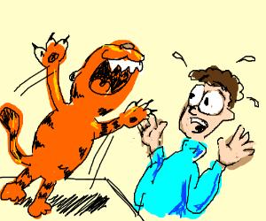 Garfield vores John