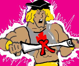 he-man graduates as master of universe