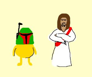 Dog the Bounty Hunter doesn't impress Jesus