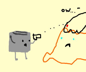 Toaster tries to save the Helpless Coral
