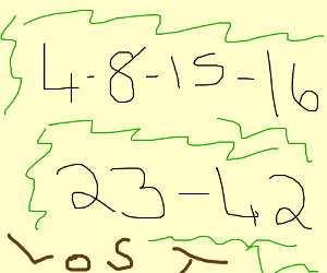 """Number sequence from """"Lost"""""""