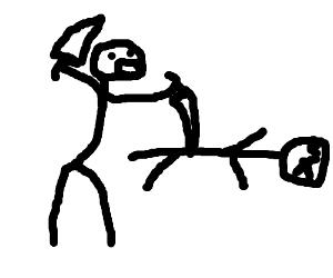 Man stabbing another man