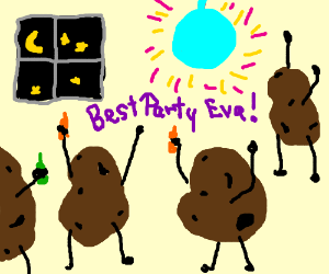 POTATO PARTY ALL NIGHT LONG