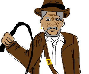 Morgan Freeman:Indiana Jones