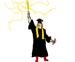 I HAVE THE POWER, He-Man Graduating college.