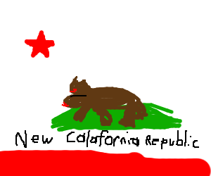 New California Republic Flag