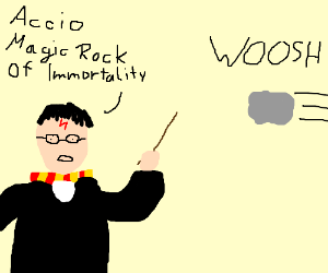 Harry Potter and the Magic Rock of Immortality