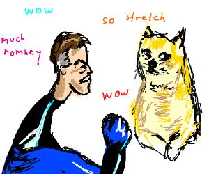 Mr. Fantastic hates doge meme WOW