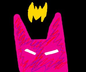 Batman's new costume is colorful