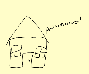 """""""Awooooo"""" comes from a cottage"""