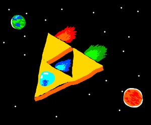 triforce spaceship