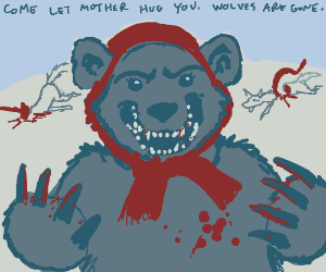 The Russian Bear wants to give you a big hug!