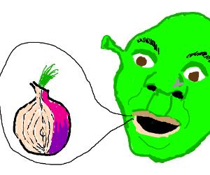 Shrek never tires of explaining onion layers