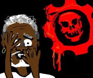 Morgan freeman fears the gears of war
