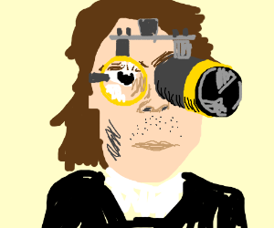 Johnny Depp on a STEAMPUNK movie.