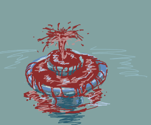 Super Scary Fountain of Blood