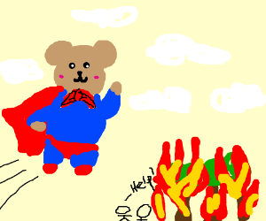 Bear to the rescue!