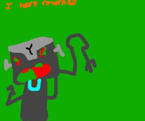 Angry robot returns