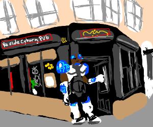 Ye olde Cyborg pub.