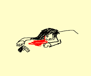 someone kills self