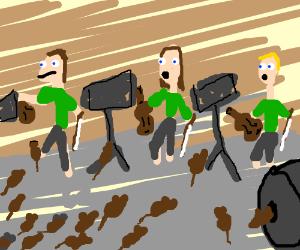 Dear god, no! They'll clog the instruments!