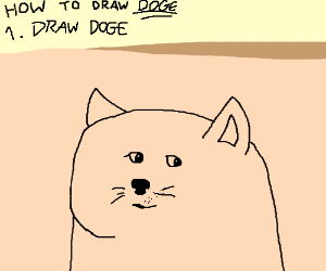 How To Draw Doge Drawing By Bluefire Drawception